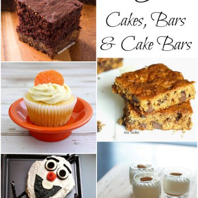 Cakes, Bars and Cake Bars at The Project Stash