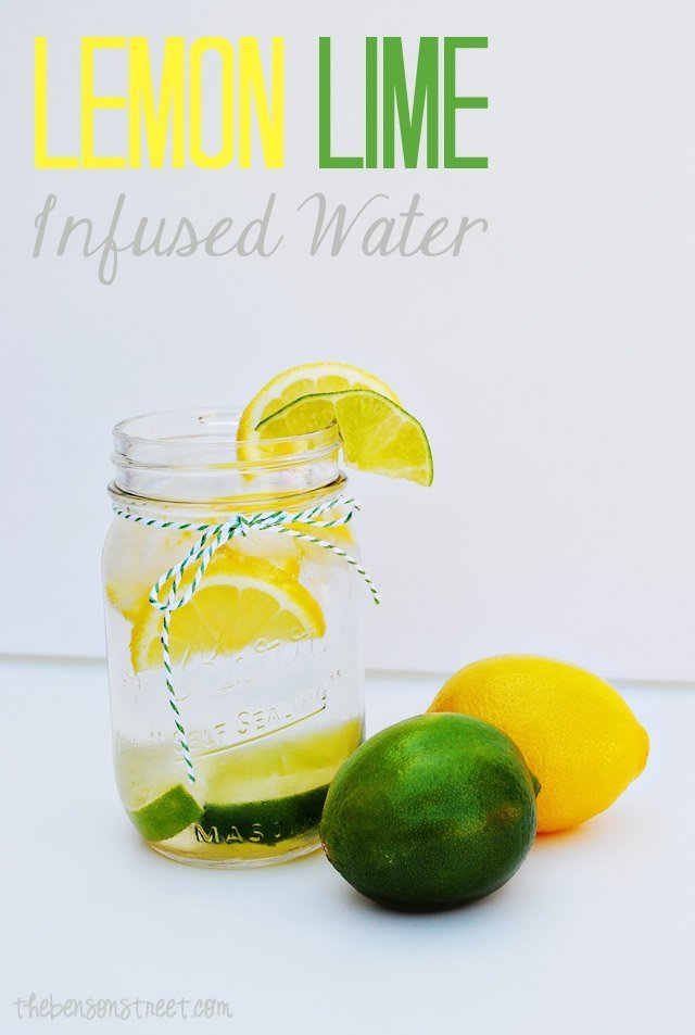 Lemon-Lime-Infused-Water-at-thebensonstreet.com_