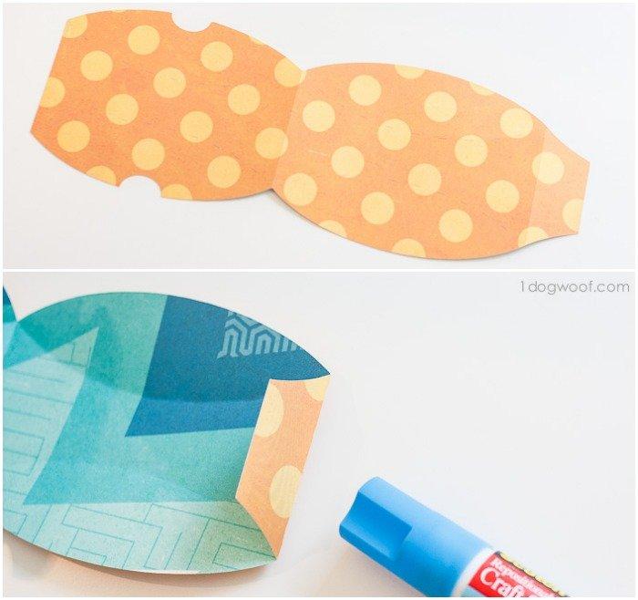 make a pillow box that looks like a bow tie | www.1dogwoof.com