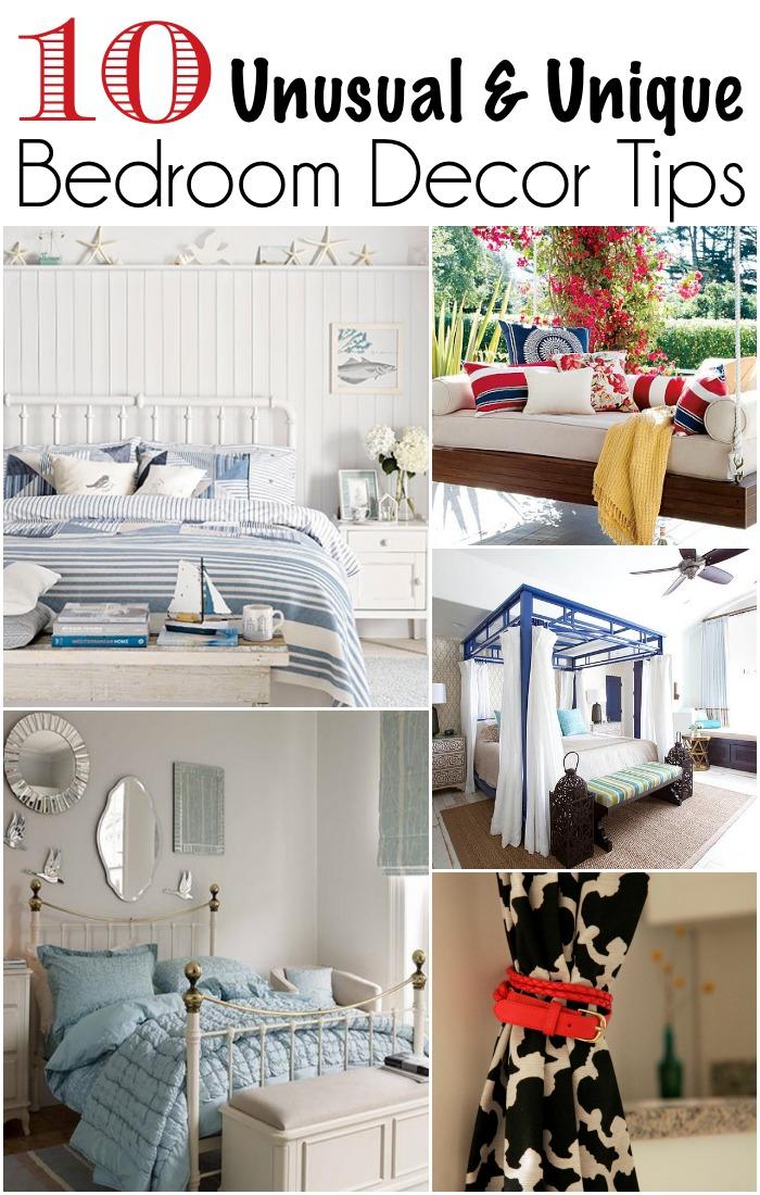 10 Unique Bedroom Decor Tips