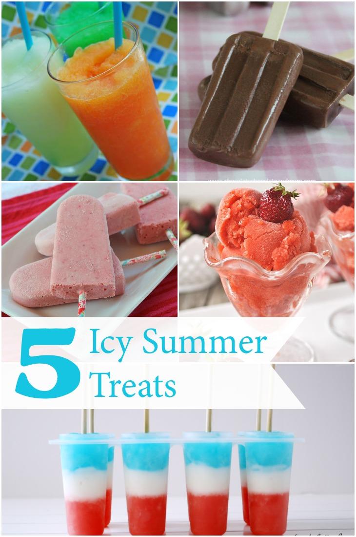 5 Icy summer treats