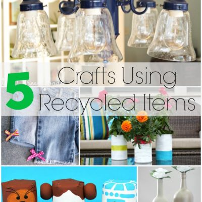 Recycled Crafts at The Project Stash