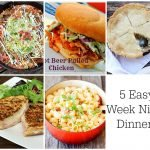 5 Easy Weeknight Dinners at The Project Stash
