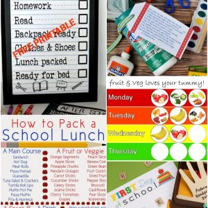 5 Back to School Printables | www.1dogwoof.com