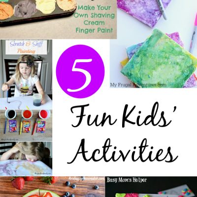 Fun Kids Activities at The Project Stash