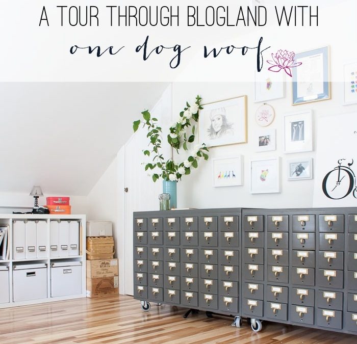 One Dog Woof's Tour Through Blogland