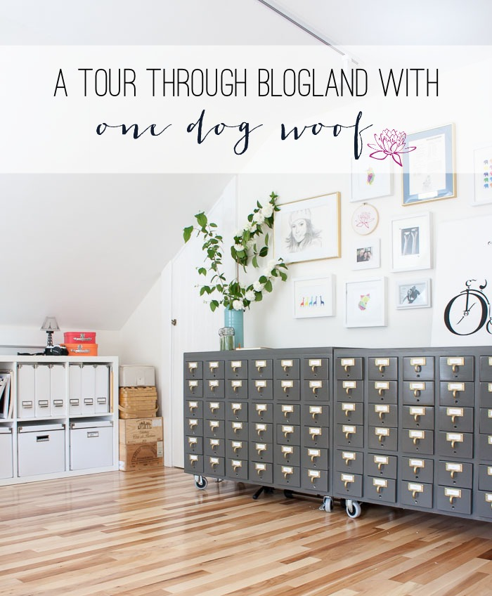 One Dog Woof's Tour Through Blogland