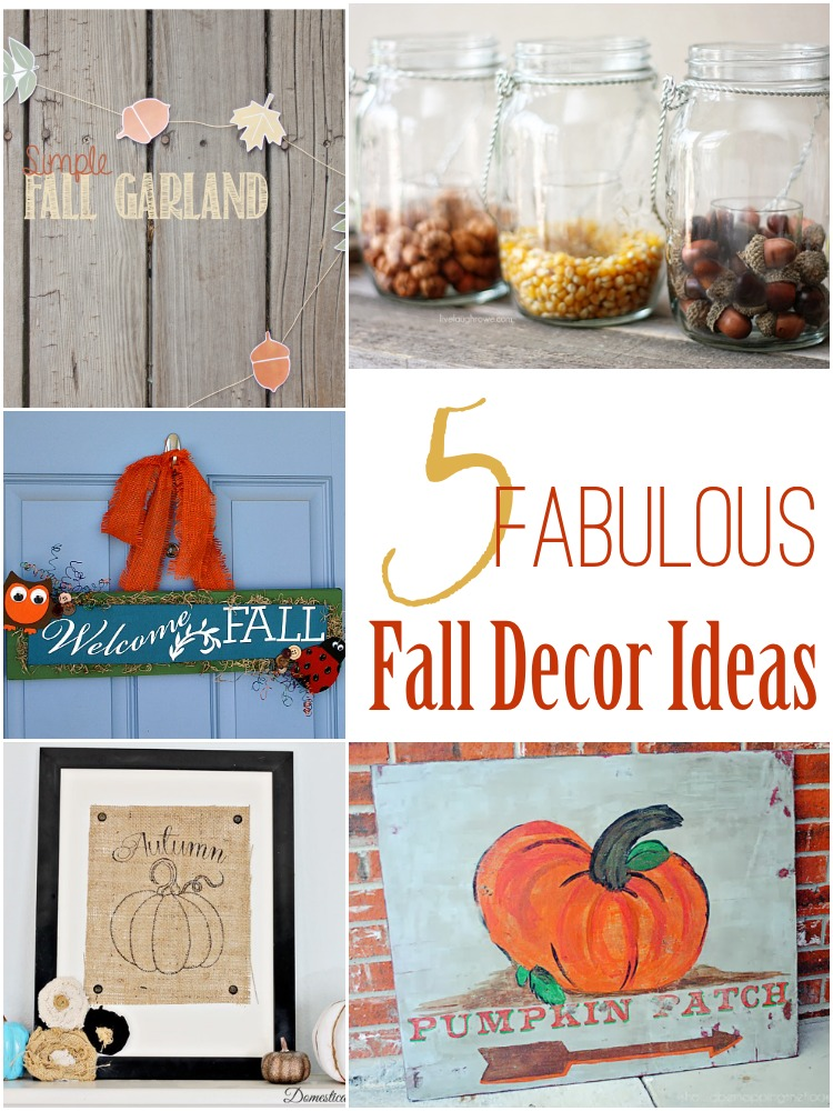 Fabulous Fall Decor Ideas at The Project Stash