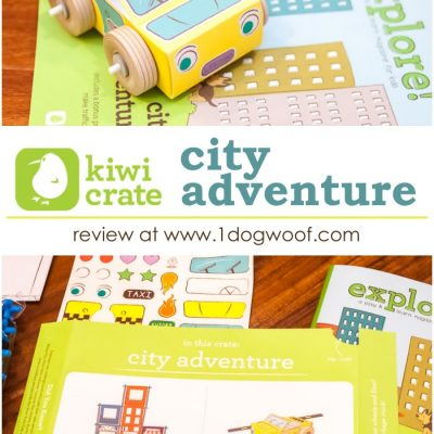 KiwiCrate City Adventure Review