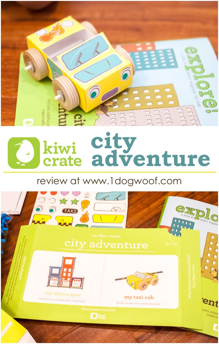 Kiwi Crate City Adventure Review