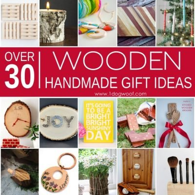 Over 30 Wooden Handmade Gift Ideas