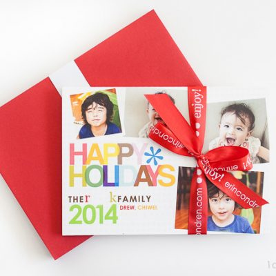 Christmas Cards from Erin Condren