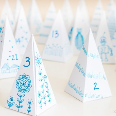 Triangle Box Advent Calendar