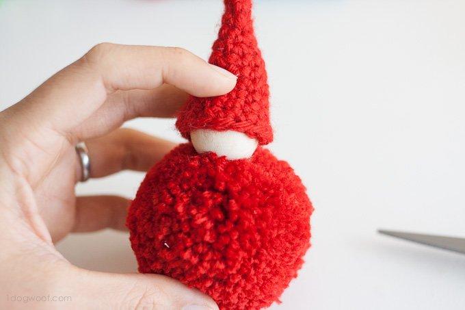 Adorable pom-pom gnomes. | www.1dogwoof.com