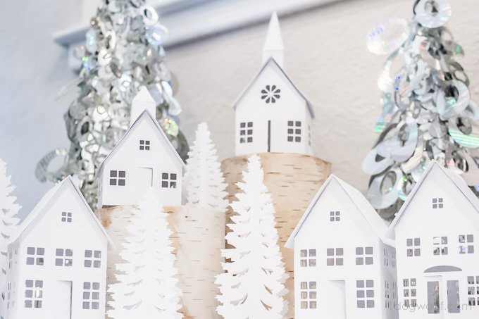 White Christmas Winter Scene