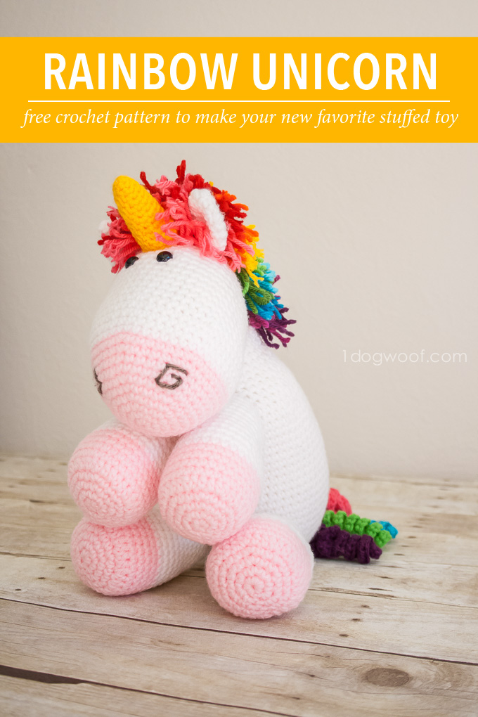 Ravelry: Nuru the Unicorn Amigurumi pattern by Carolina Guzman | 1020x680