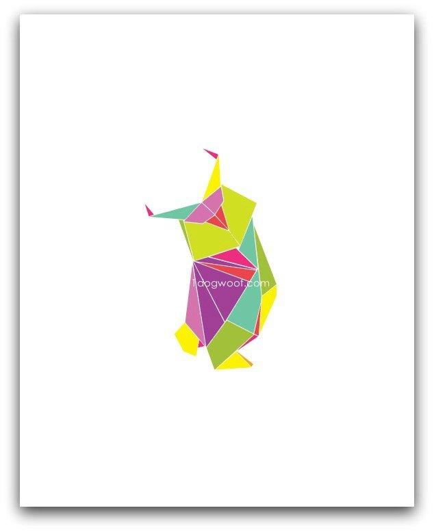 origami owl digital art print | www.1dogwoof.com
