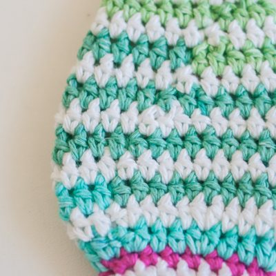 Perfect Crochet Stripes Without Cutting Yarn