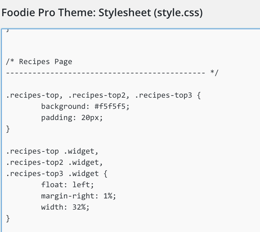 how to create new style sheet