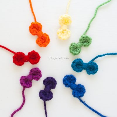 Sweet and Simple Crochet Bows