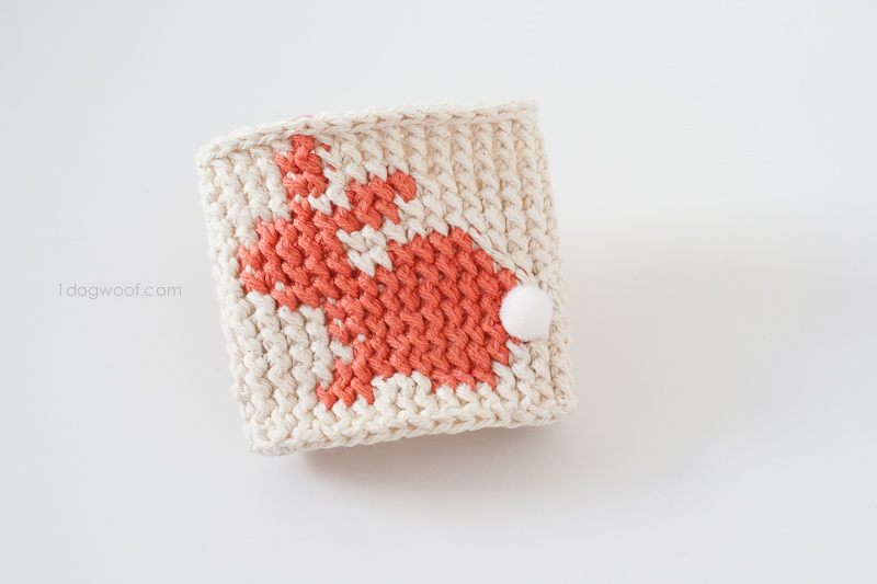 Front Post Single Crochet tutorial | www.1dogwoof.com