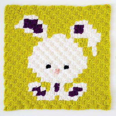Zoodiacs Bunny Rabbit C2C Crochet Graph