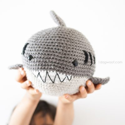 Crochet Shark Amigurumi