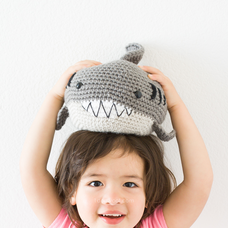 Awesome Shark Crochet Patterns | 800x800