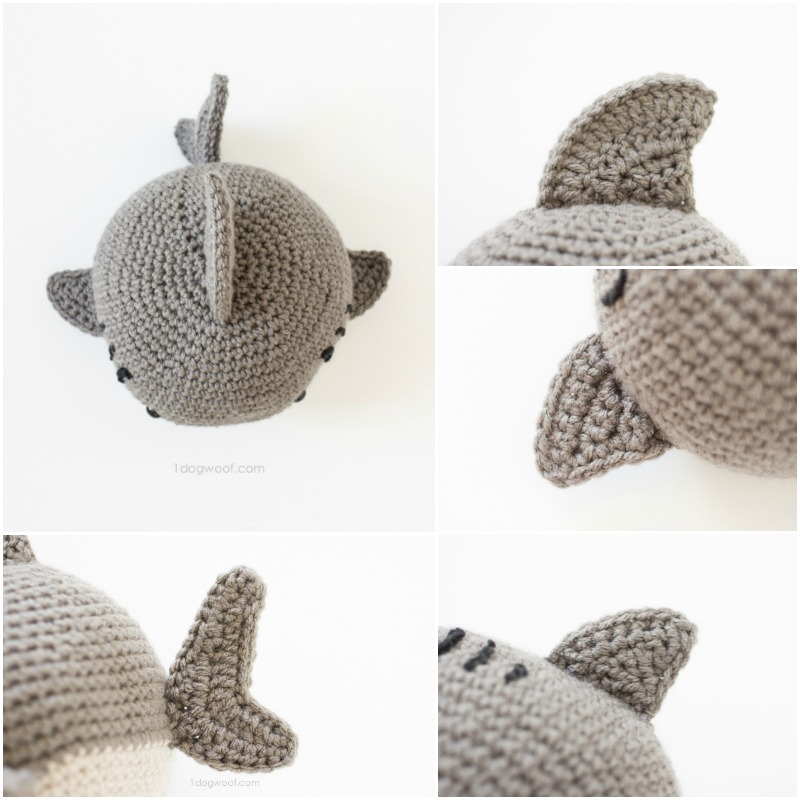 Shark amigurumi pattern crochet toy | 800x800