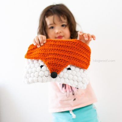 Orange You a Cute Crochet Fox Purse