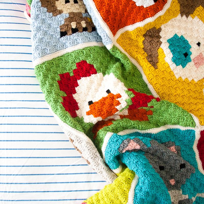 Zoodiacs Blanket | www.1dogwoof.com