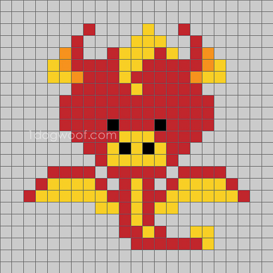 Zoodiacs dragon c2c graph