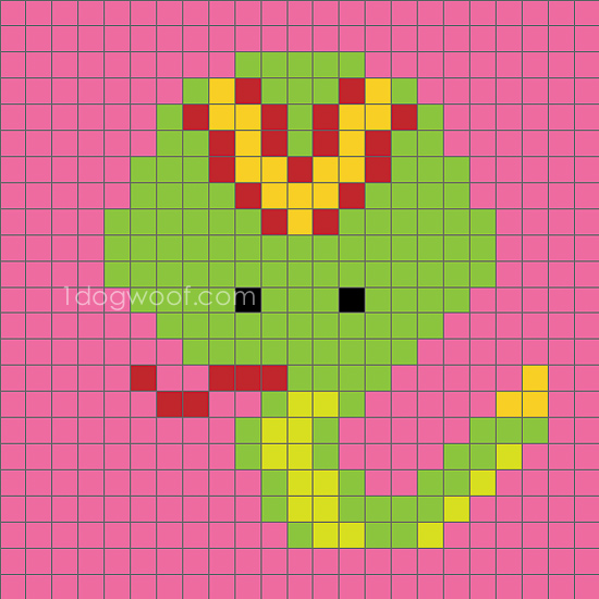 Zoodiacs Snake C2C Crochet Graph - One Dog Woof
