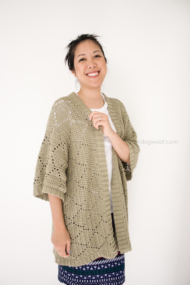 Summer Diamonds Kimono Cardigan