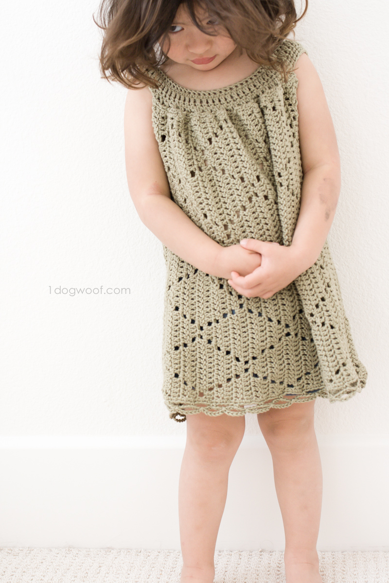 Summer Diamonds Toddler Dress
