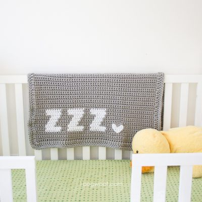 Get Some Zzz's Crochet Baby Blanket