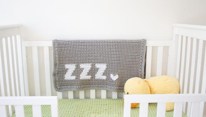 Get Some Zzz's Crochet Baby Blanket