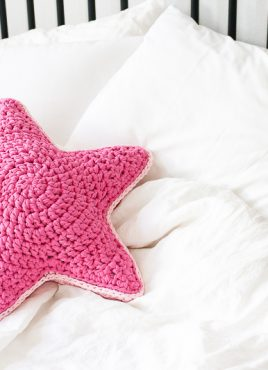 Sirius the Crochet Star Pillow