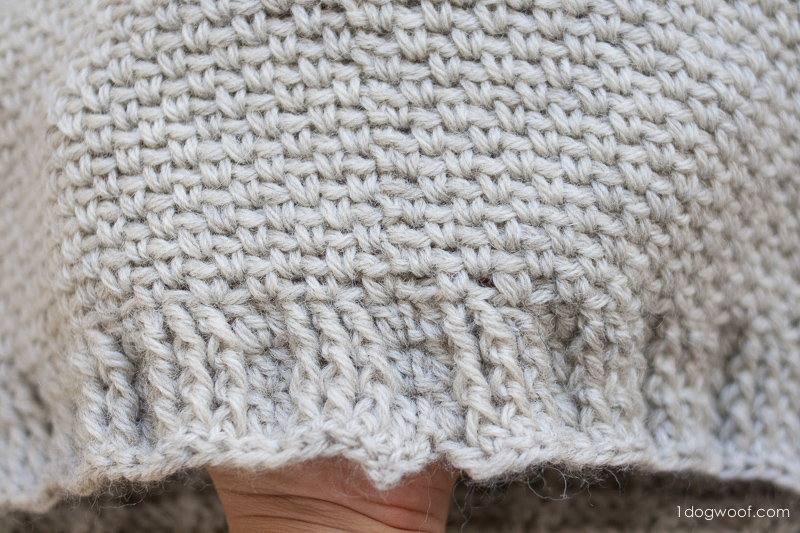 Knitting Pattern Hood With Ears : Hideaway Hooded Scarf - One Dog Woof