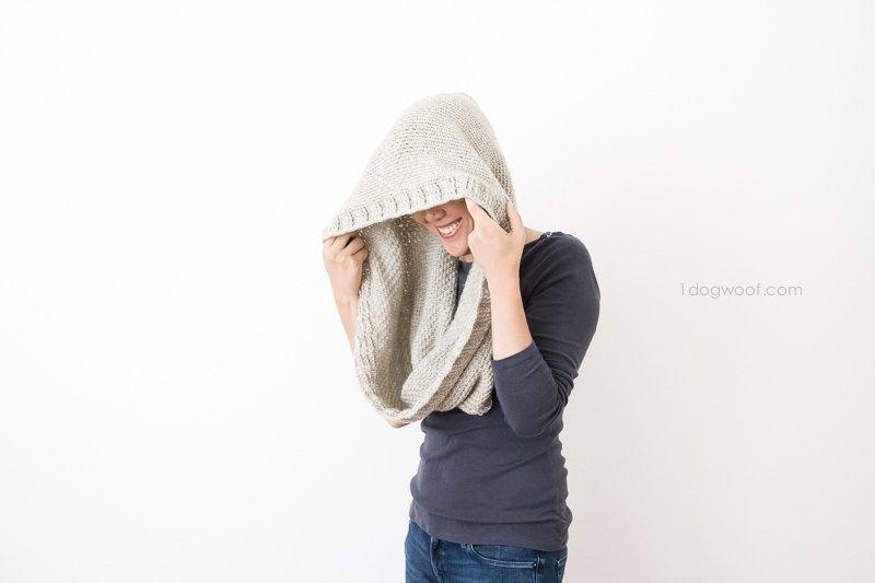Hideaway Hooded Scarf