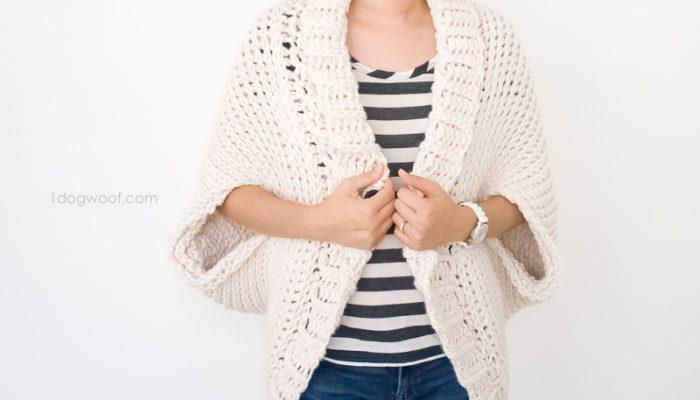 Simple Starlight Shrug Crochet Pattern