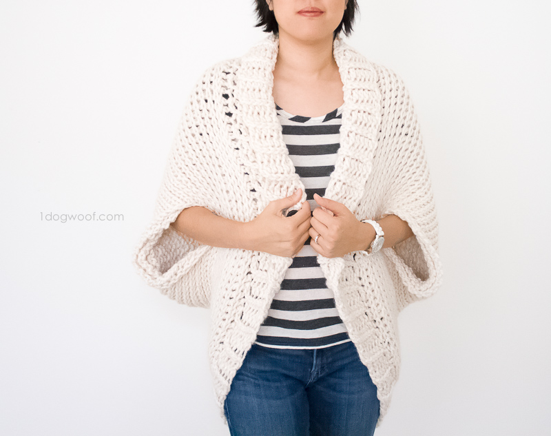 Simple Starlight Shrug Crochet Pattern