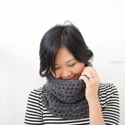 Millbrook Cowl, crochet pattern