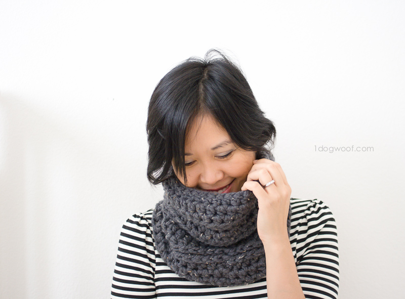Millbrook Cowl, crochet pattern