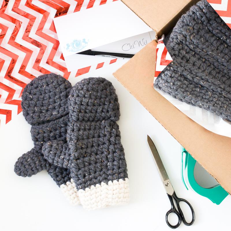Millbrook Chunky Mittens, free crochet pattern
