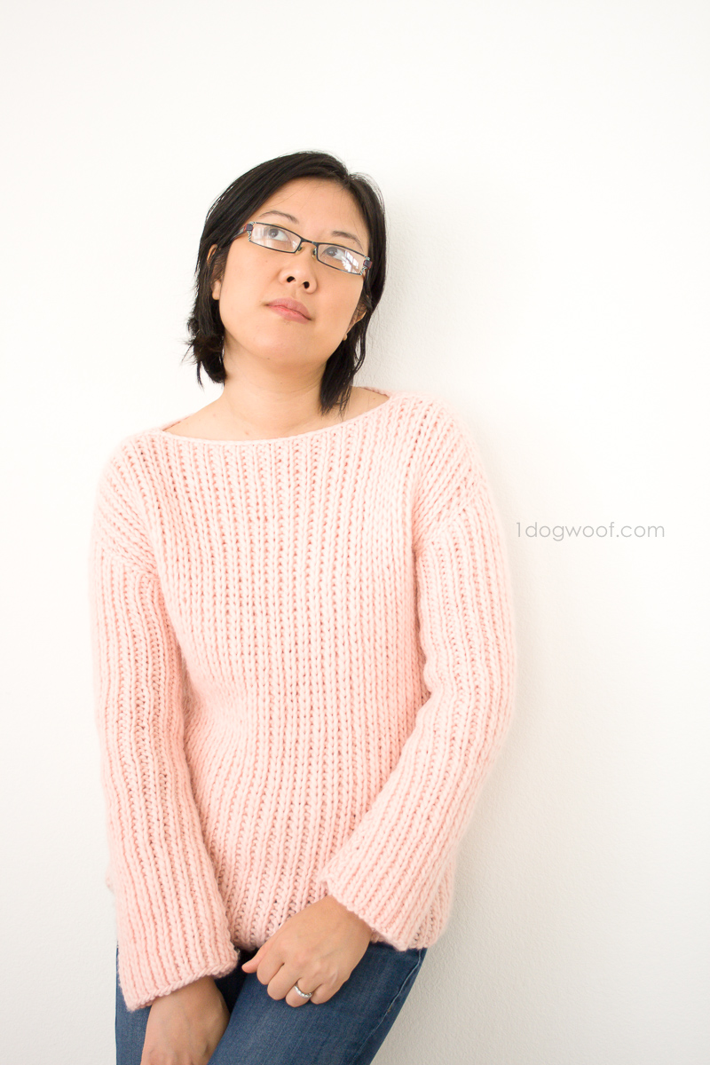 We Are Knitters Buttercream Sweater Knit Kit review