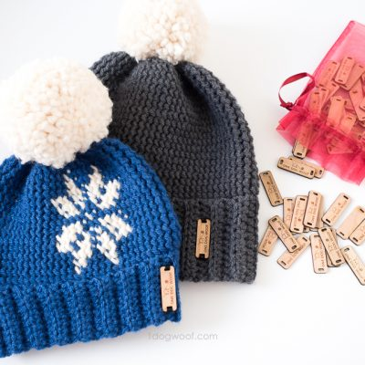 Pebble Beach Beanie Crochet Pattern