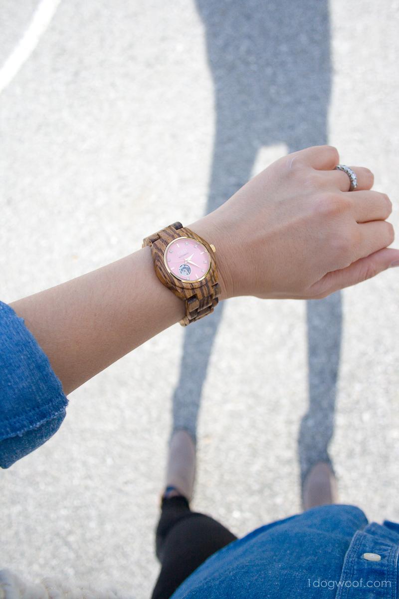 JORD wood women's watch