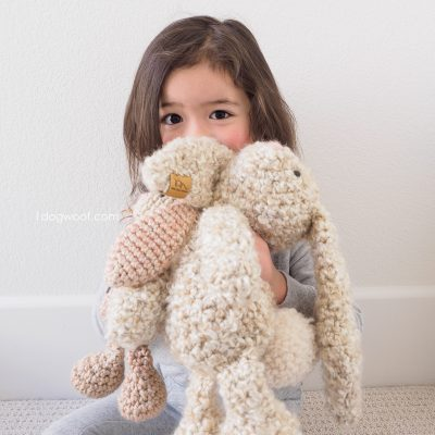 Classic Crochet Bunny Pattern for Easter