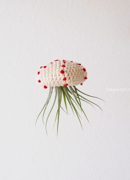 Crochet Air Plant Jellyfish Tutorial